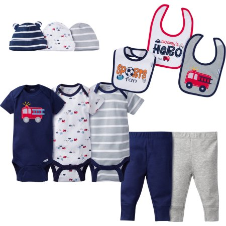 1b9326aa2 11 piece Baby Boy Perfect Baby Shower Gift Layette Set 1 Gerber ...