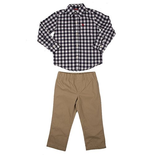 8d6c9c1f Shirt and Matching Trousers Blue by Carters - Nice and Affordable