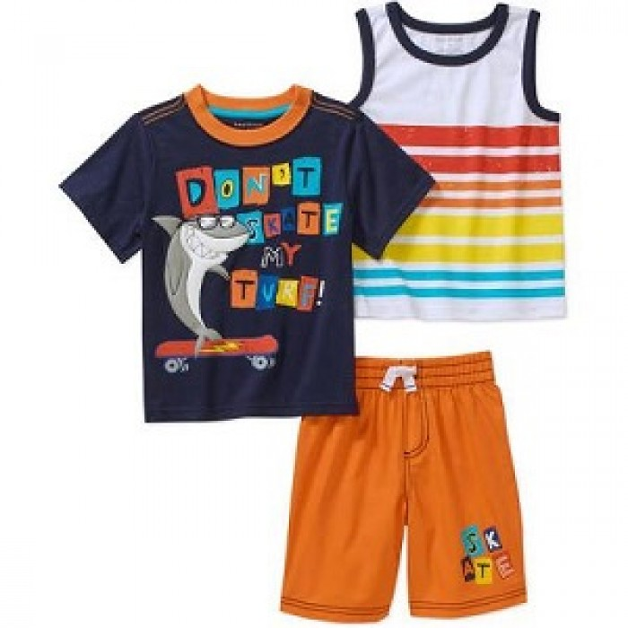 Healthtex Boy Tee Shirt, Tank, & Shorts